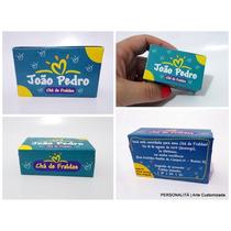 20 Convites Chá De Fralda Caixa Personalizado.