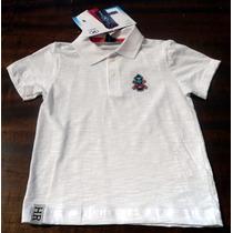 Camisa Polo Masculina Infantil Hering