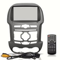 Central Multimídia Booster Tela 8 Ford Ranger 2013 2015 Gps