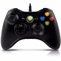 Controle Joystick Xbox 360 Pc Notebook Com Fio Usb