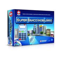 Jogo Super Banco Imobiliário Com Cartão - Estrela