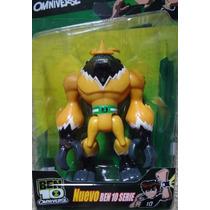 Ben 10 Ominiverse Shock Squatch Boneco Shocksquatch Ben10