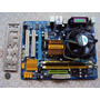 Placa Mãe Ddr2 Gigabyte + Quad 6700 + 4 Gb Mem + Cooler 120w Original
