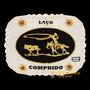 Fivela Laço Comprido Com Detalhes Em Strass - Cowboy Brand 1