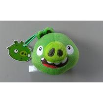 Porco Recruta De Pelúcia Angry Birds Mc Donalds