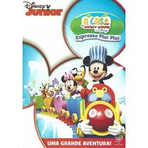 Dvd Expresso Piuí Piuí Disney Júnior A Casa Do Mickey Mouse
