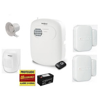 Kit Alarme Residencial E Comerc.intelbras Anm2004/3004 S/fio