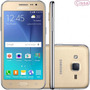 Oferta Celular Samsung Galaxy J2 Duos J200bt Tv Dourado 5mp