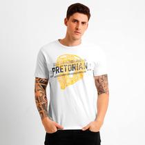 Camiseta Pretorian Helmet - Branca Tamanho G