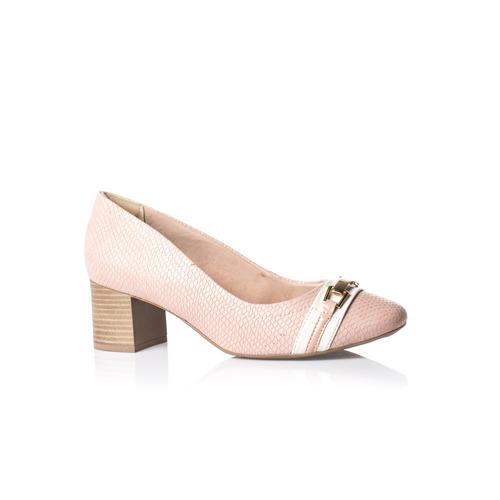 bb5219de5 Sapato Feminino Bloco Ramarim 18-84104   Feirão Do Calçado