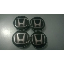 Calota Centro De Roda Honda Civic City Fit Accord Cr-v 49mm