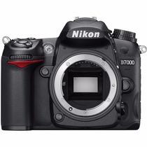 Câmera Slr Nikon D7000 (apenas Corpo) 16mp Nova Com Garantia
