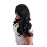 Peruca Orgânica Ondulada Longa 65 Cm 250 Gramas + Touca Wig