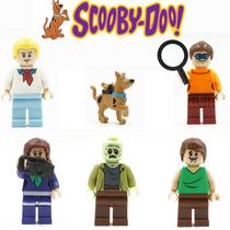 Kit Minifiguras Scooby Doo - Compatível Lego