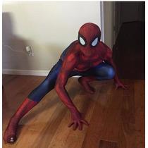Fantasia Do Homem Aranha Original Melhor Do País
