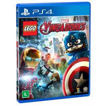 Lego Marvel Vingadores Ps4 100% Portugues Pronta Entrega