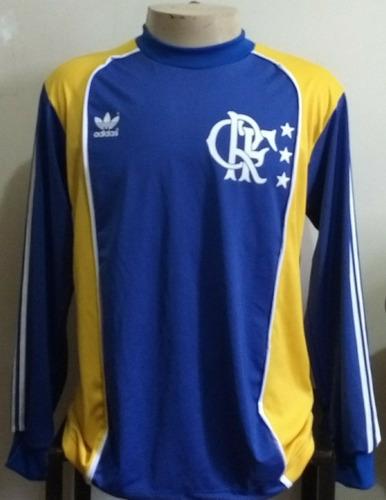 Camisa Di Retrô Goleiro Flamengo ( Anos 80) R 149.85 l0bg7 - Precio ... f79dc68d2feff