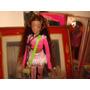 Boneca Negra 33 Cm Pernas Longas Vinil Fashion Doll Itália