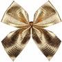 Laço Dourado Para Arvore De Natal 12 Unidades