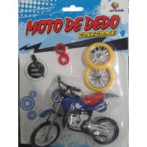 Moto Bicicleta De Dedo Mini Art Brink