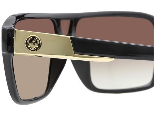 59483131601db Óculos Sol Dragon Leopardo Gold Original Nota + Garantia. R  348