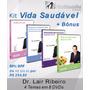 Kit Vida Saudável - Dvds Dr. Lair Ribeiro