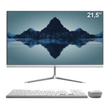 Computador All In One 21.5  Intel Dualcore 4gb Ssd 120gb