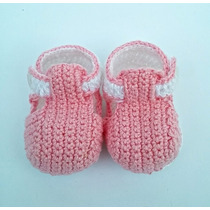 Bebe Reborn Sapatinho / Tênis Crochê Bebê Enxoval