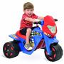 Moto Elétrica Infantil Criança Menino Bandeirante Azul Nova