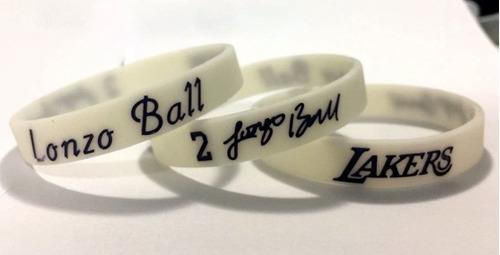 e817b3e5dd6 Pulseira Nba Lonzo Ball - Los Angeles Lakers - Lebron James. Preço  R  20  Veja MercadoLibre