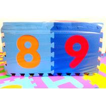 Tatame Infantil Alfanumerico Aquarela Toy 36 Peças