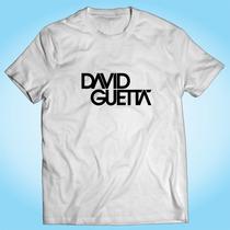 Camisa David Guetta - Música Eletrônica - Pop