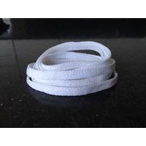 Cadarco Para Tenis 1,20 Cm Branco Chato-153