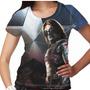 Camiseta Capitão América Soldado Invernal Feminina