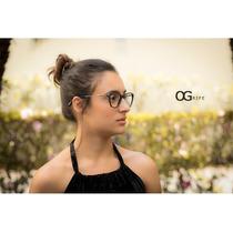 bb20bf8e3 Armação Oculos Ogrife Og 767-c Feminino Com Lente Sem Grau à venda ...