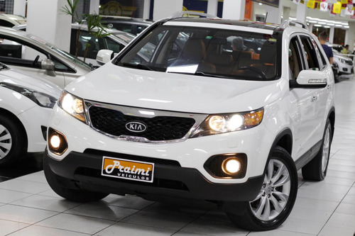 KIA SORENTO EX 3.5 V6 AUTOMÁTICA 7 LUGARES + TETO SOLAR 2012