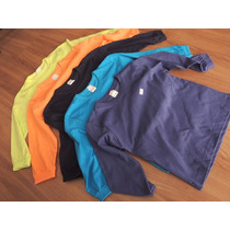 Kit 3 Camisetas Manga Longa Infantil 4/12