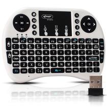 Mini Teclado Sem Fio Air Mouse Wireless Touch Pad Console Pc
