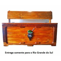 Bau / Banco De Madeira Ultimas Unidades