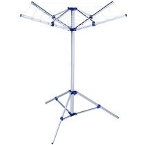 Varal Fixo Modelo Parabólico Em Alumínio C/ Base - Mor