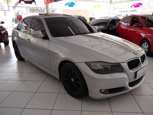 BMW 320 TOP TETO SOLAR COURO NOVA RODAS BLACK 2010 80 MIL KM