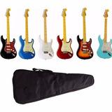 Guitarra Tagima Serie Woodstock Tg530 + Capa + Cabo Tg 530