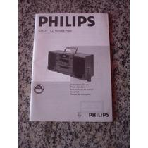 Manual De Instruções Philips Cd Player Az9555