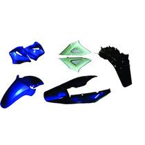 Carenagem Kit Compl+paral Tz Cbx 250 Twister Azul 2001/02