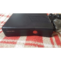 Xbox 360 Slim 4gb Travado + Jogos + Hd 320gb