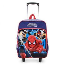 Mochilete Infantil Homem-aranha - Marinho