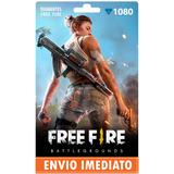 Free Fire 1080 Diamantes +10% Bônus - Recarga P/ Conta