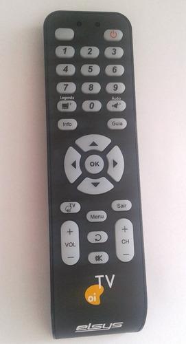 Controle Remoto Para Receptor Oi Tv Elsys Original