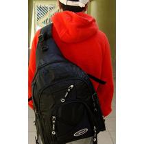 Mochila Esporte, Escolar, Ciclista, Moto, Alça Transversal