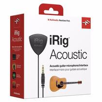 Irig Acoustic Microfone Captador Para Iphone Ipad Android